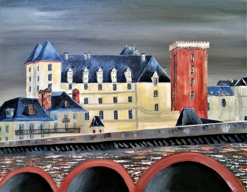 Debriva - Château de Pau du pont du XIV juillet