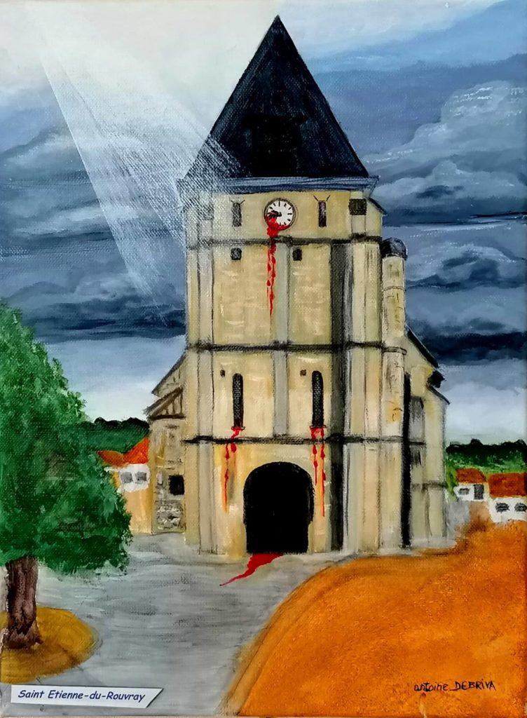 Debriva Eglise de St Etienne du Rouvray