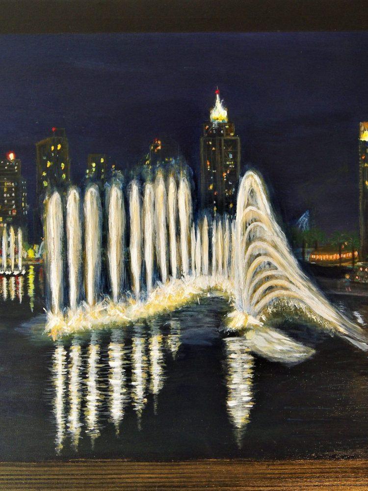 DUBAI Jeux d'eaux
