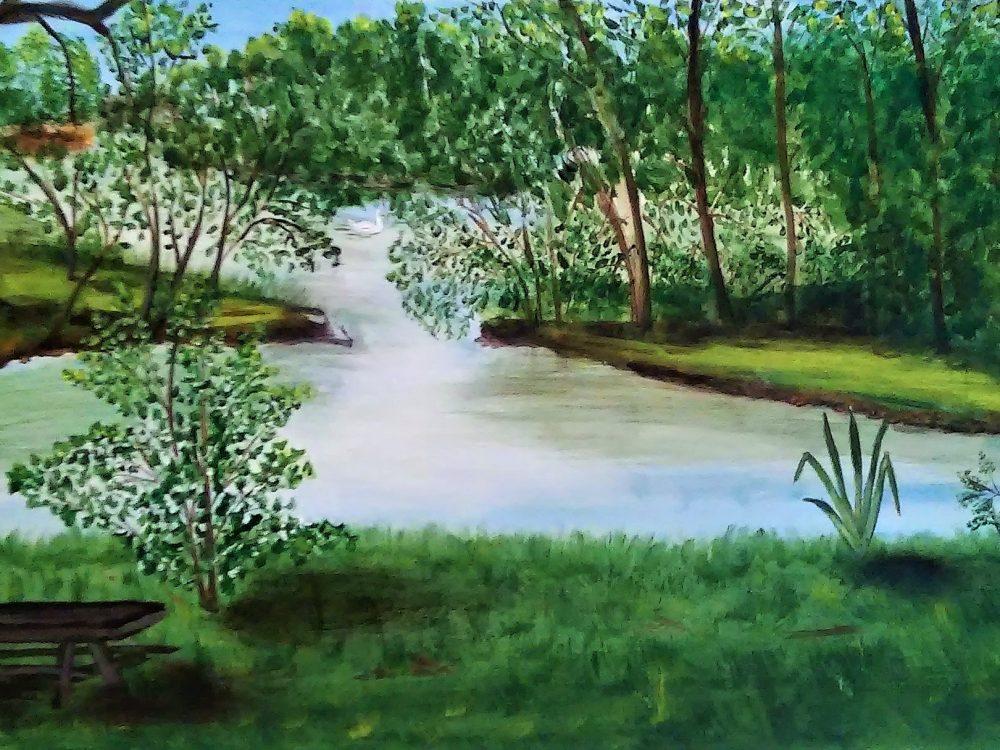 Lescar Lac des Carolins