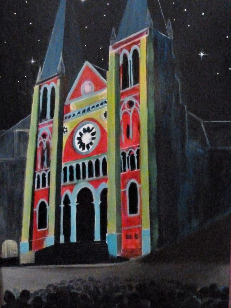 PAU Eglise St Jacques Son et lumoères